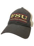 Florida State Unstructured Bar Trucker Hat