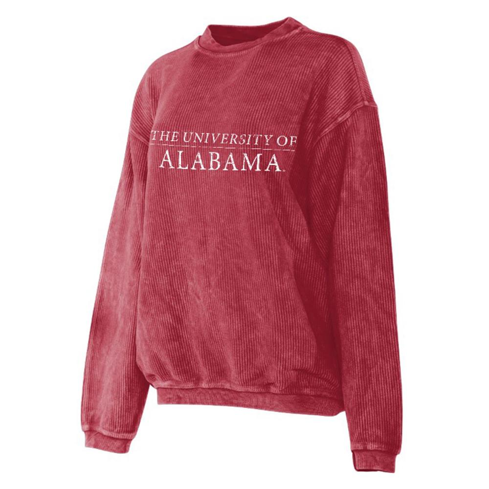 Alabama Chicka- D Corded Sweatshirt