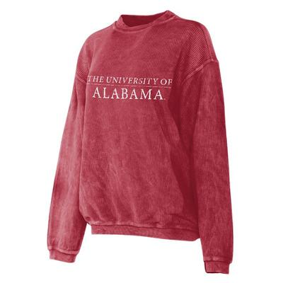Alabama Chicka-D Corded Sweatshirt