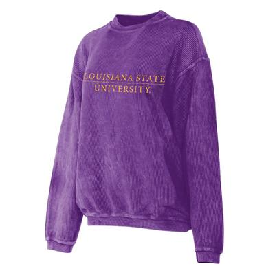 LSU Chicka-D Corded Sweatshirt