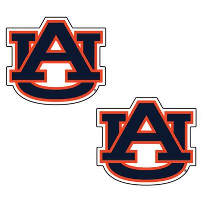 Auburn 2 Inch Decal 2 Pack