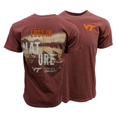 Virginia Tech Comfort Colors Lost in Nature T-Shirt