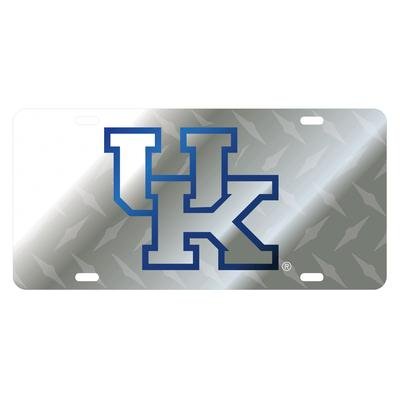 Kentucky Satin Silver License Plate