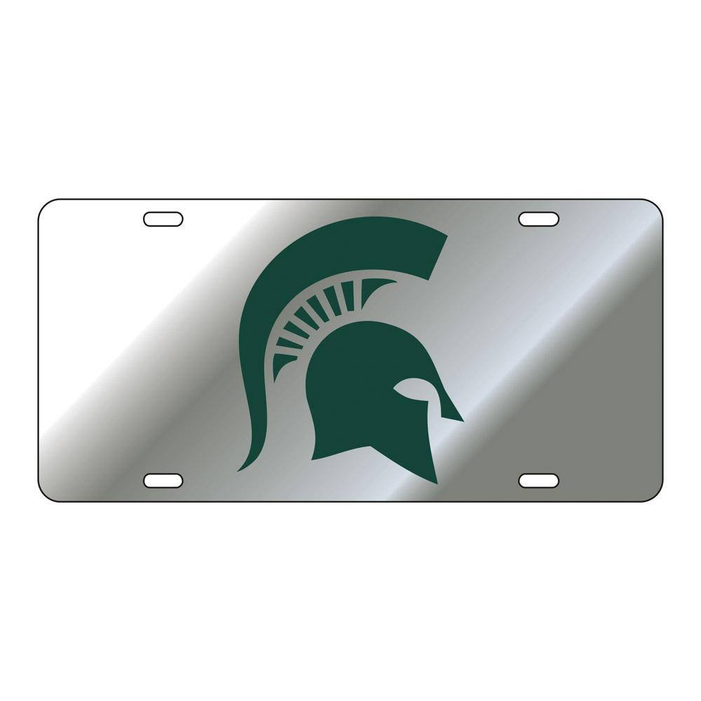 Michigan State Spartan License Plate