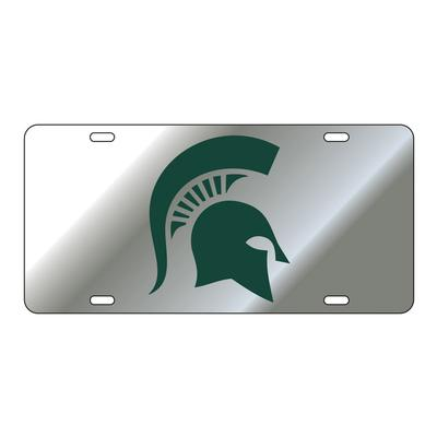 Michigan State Spartan License Plate