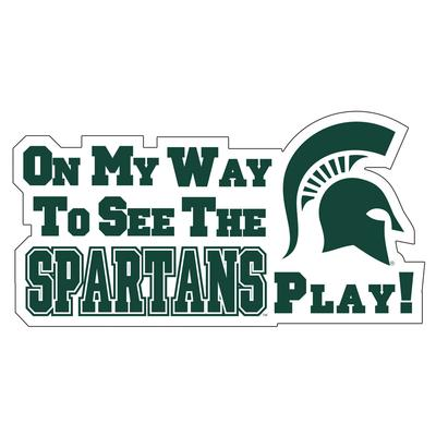 Michigan State Magnet