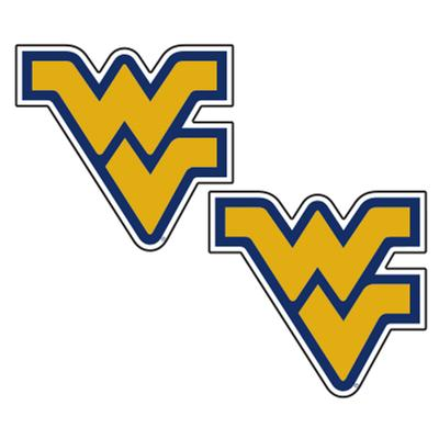 West Virginia 2 Inch Decal 2 Pack