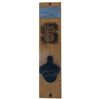 NC State Timeless Etchings Wall Mount Bottle Opener