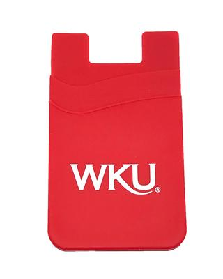 WKU Silicone Media Wallet