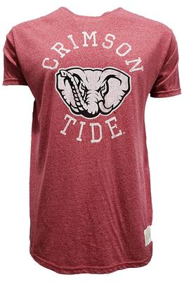 Alabama Retro Brand Circle Mock Twist Tee