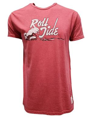Alabama Retro Brand Heathered Roll Tide Tee