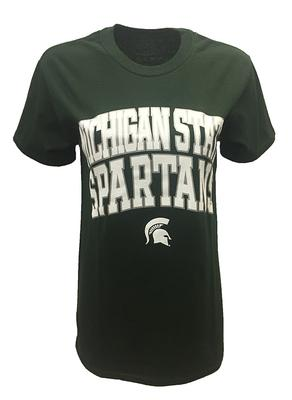 Michigan State Women's Double Arch Logo Tee