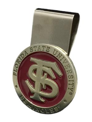 Florida State Heritage Pewter Money Clip