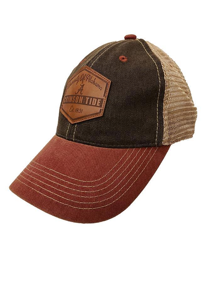 Alabama Legacy Mesh Trucker Patch Hat