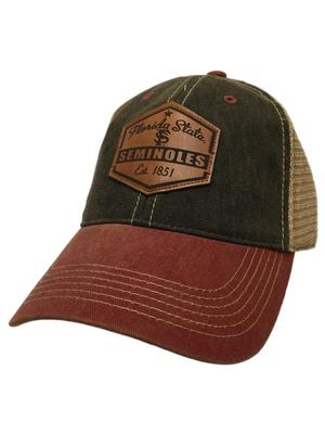 Florida State Legacy Mesh Trucker Patch Hat