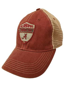 Alabama Legacy Flex Fit Mesh Trucker Hat