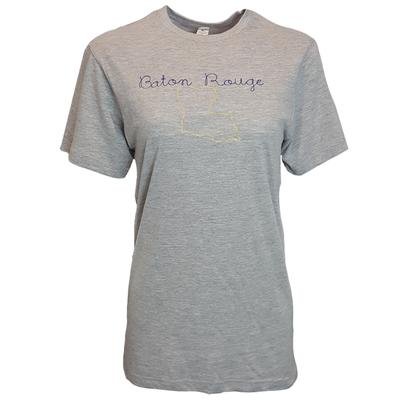 LuckyBird Baton Rouge Double Chain Stitch Tee