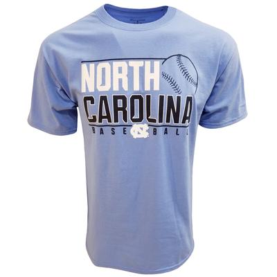 UNC Champion Baseball Stack T-shirt