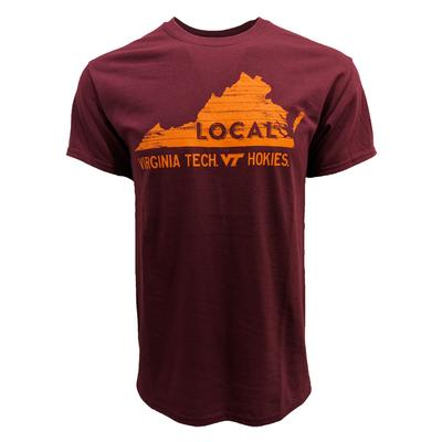 Virginia Tech Wooden State LOCAL T-Shirt