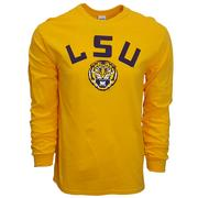 Lsu Arch Logo Long Sleeve Tee