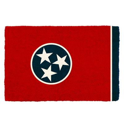Tennessee State Flag Door Mat