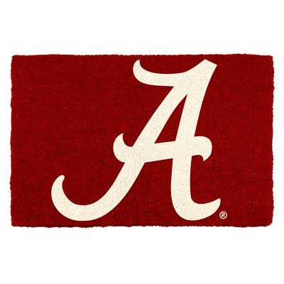 Alabama Script A Door Mat