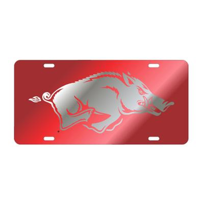 Arkansas Running Hog License Plate