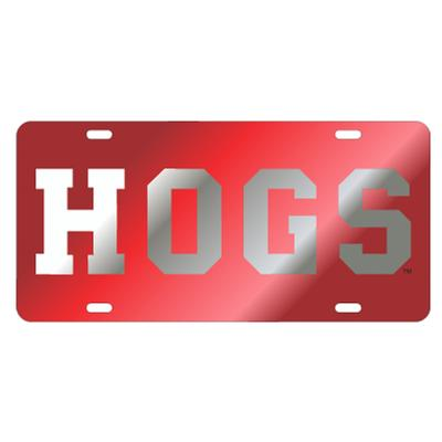 Arkansas HOGS License Plate