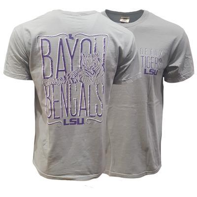 LSU Bayou Bengals Comfort Colors Tee
