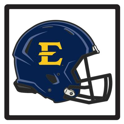 ETSU E Logo Domed Hitch Cover