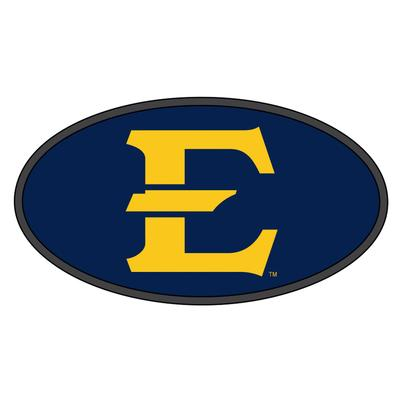 ETSU E Logo Oval Hitch Cover