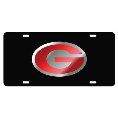 Georgia Power G Black License Plate