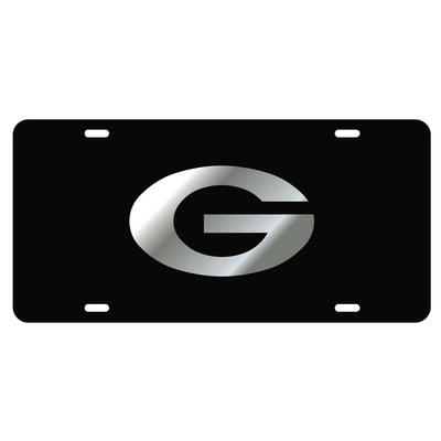Georgia Power G Silver Logo License Plate