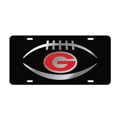 Georgia Football License Plate