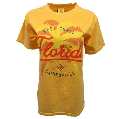 Gainesville Double Palm Tree Comfort Colors Tee