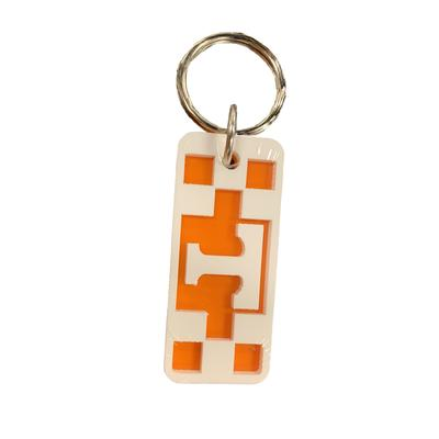 Tennessee Checkerboard Keychain