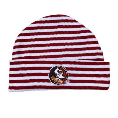 Florida State Infant Striped Knit Cap