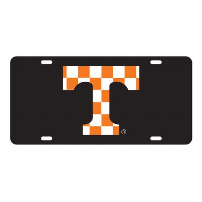 Tennessee Checkerboard Power T License Plate