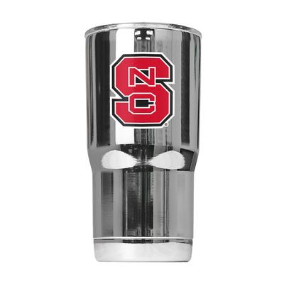NC State Gametime Sidekick Chrome 20oz Tumbler With Lid