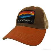 Blacksburg Landscape Legacy Mesh Trucker Hat