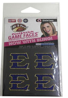 ETSU Fan Dazzler Face Tattoos (4-Pack)