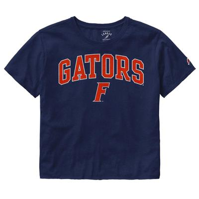 Florida League Women's Clothesline Crop Tee
