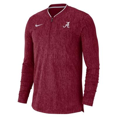 Alabama Nike Coaches 1/2 Zip Pullover