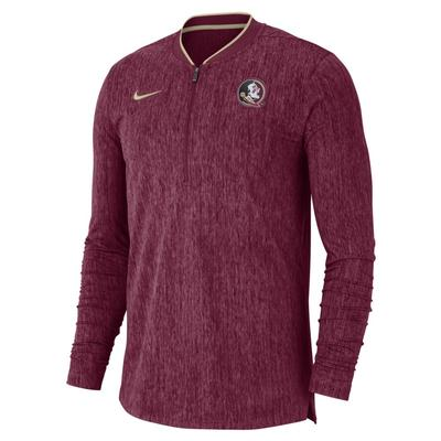 Florida State Nike Coaches 1/2 Zip Pullover