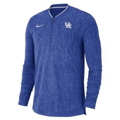 Kentucky Nike Coaches 1/2 Zip Pullover