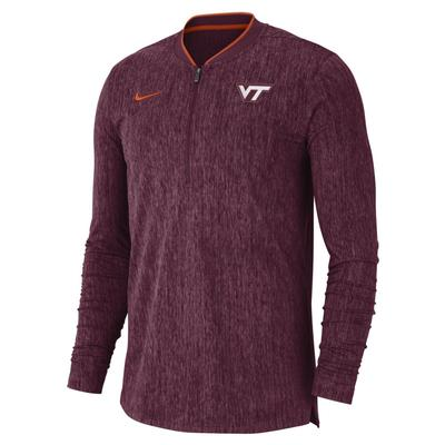 Virginia Tech Nike Coaches 1/2 Zip Pullover