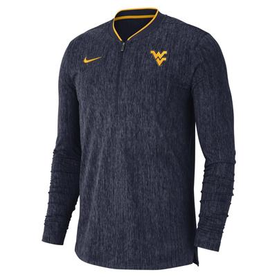 West Virginia Nike Coaches 1/2 Zip Pullover