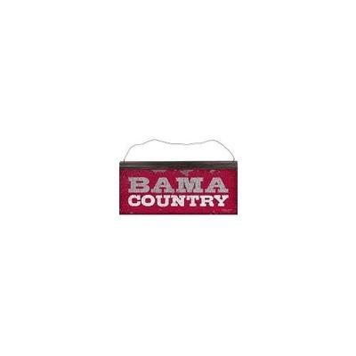 Alabama Mascot Country Tin Sign