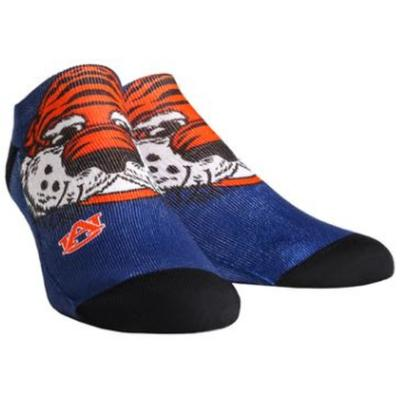 Auburn Rock'em Mascot Series Low Cut Socks