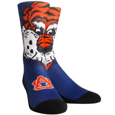 Auburn Rock'em Mascot Series Youth Crew Socks